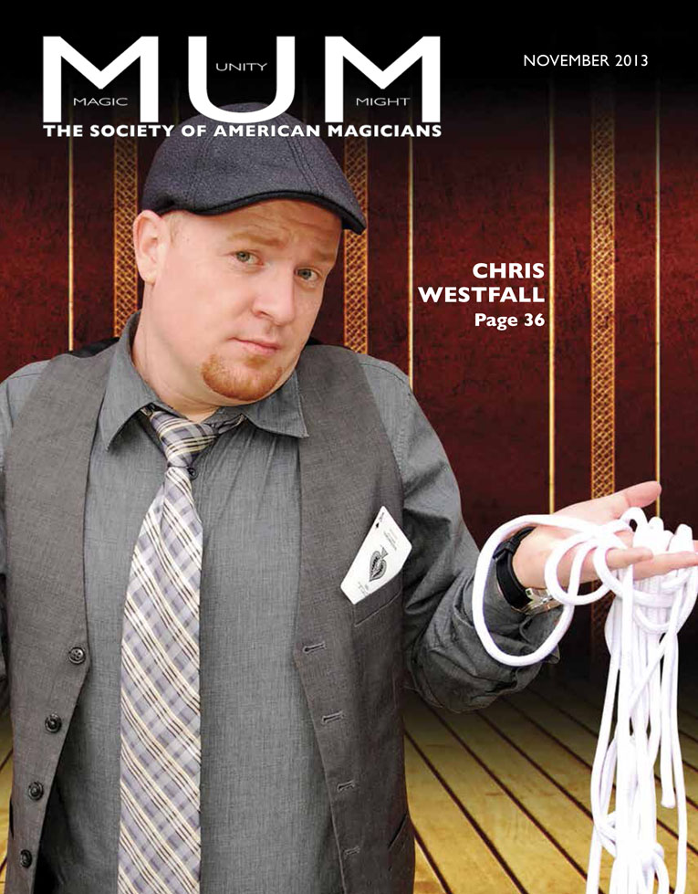 chris westfall magazine cover