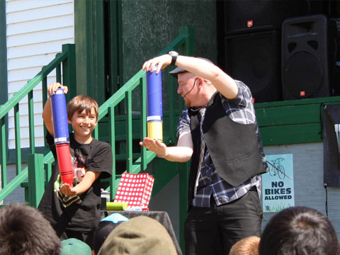 Toronto Magician at Fun fair