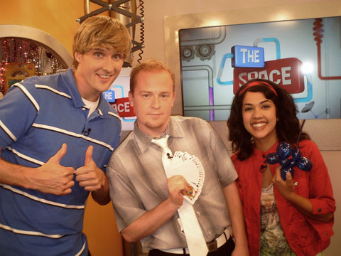 Toronto Magician Chris Westfall on TVOkids in Toronto