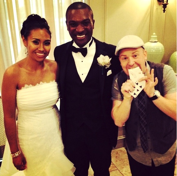 wedding magician chris westfall